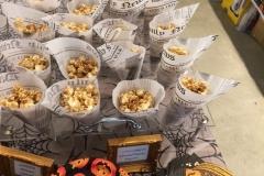 Caramel Popcorn Cornucopias