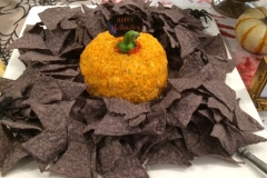 Halloween Pimento Cheese ball