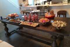 Grammy Party Food display