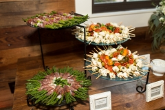 Antipasto skewers & Prosciutto wrapped Asparagus