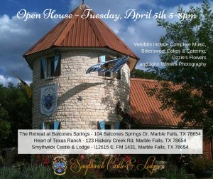Open HouseTuesday, April 5th 5-8pm